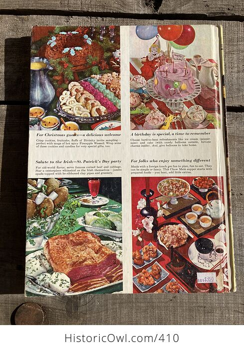 Better Homes and Gardens Holiday Cook Book C1967 - #2f3kZ0E3mNI-2