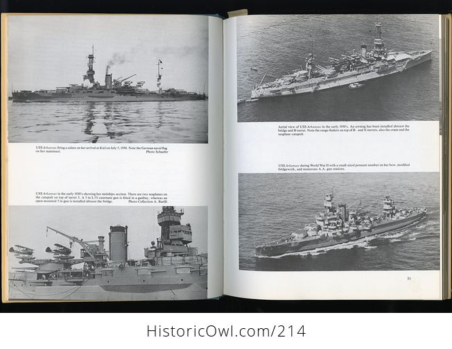 Book Battleships of the Us Navy in World War Ii by Stefan Terzibaschitsch C1977 - #yJWMIGv4Tww-6