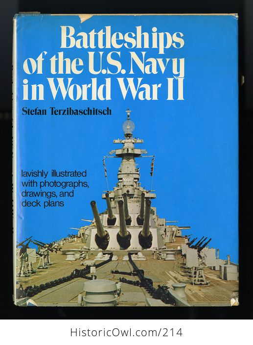 Book Battleships of the Us Navy in World War Ii by Stefan Terzibaschitsch C1977 - #yJWMIGv4Tww-1