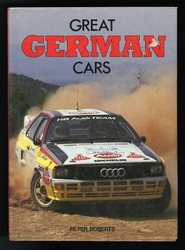 Book Great German Cars by Peter Roberts C1985 #bpvfpp9ftIA