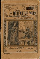 Book on Detective Work or How and when to Adopt It As a Profession #7ZBJhzzfWic