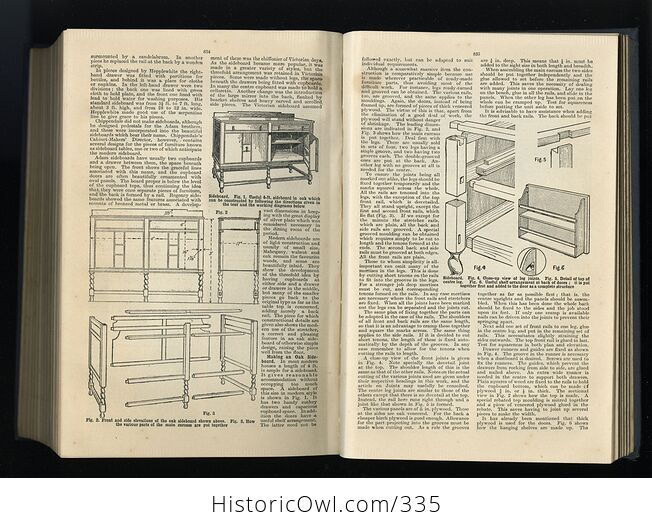 Cassells Home Encyclopedia a Practical Guide to All Home Crafts Antique Illustrated Book - #DqfvTtvvkDs-5