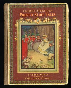 Childrens Stories from French Fairy Tales Antique Book by Doris Ashley #ShaiVuMw1rg