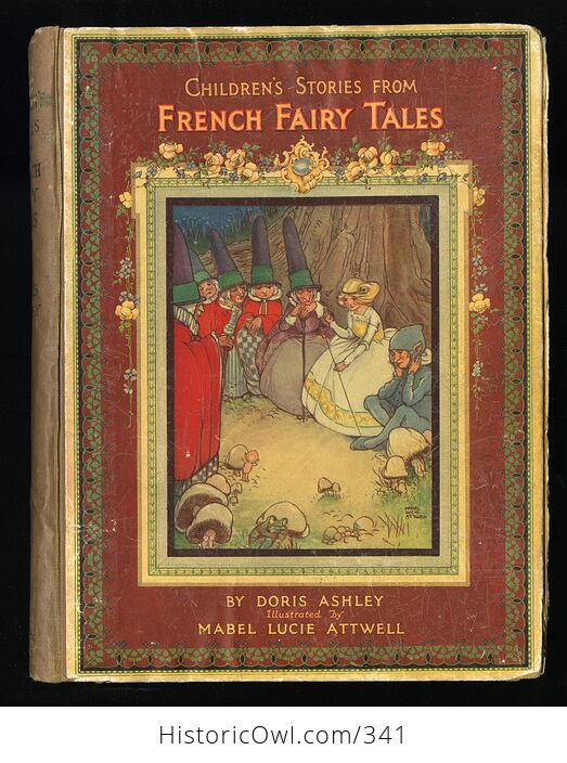 Childrens Stories from French Fairy Tales Antique Book by Doris Ashley - #ShaiVuMw1rg-1