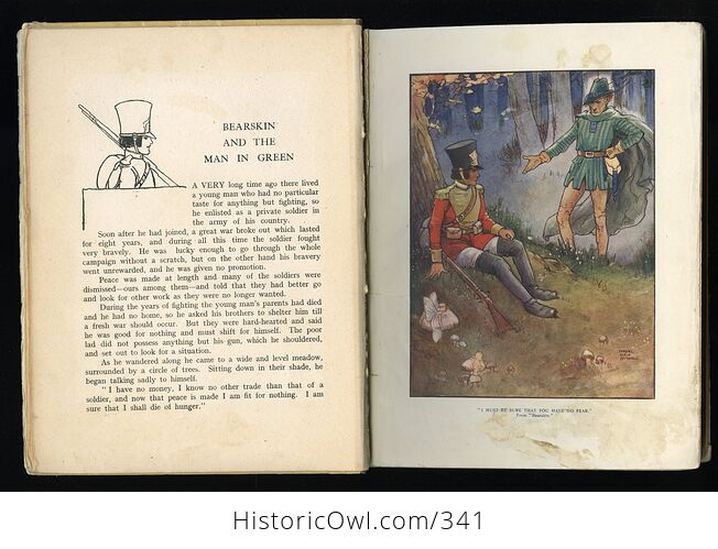 Childrens Stories from French Fairy Tales Antique Book by Doris Ashley - #ShaiVuMw1rg-8