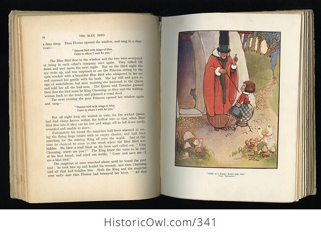 Childrens Stories from French Fairy Tales Antique Book by Doris Ashley - #ShaiVuMw1rg-9