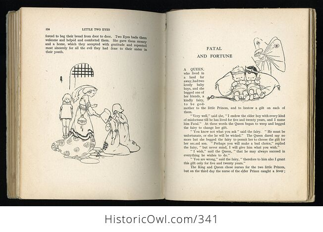 Childrens Stories from French Fairy Tales Antique Book by Doris Ashley - #ShaiVuMw1rg-10