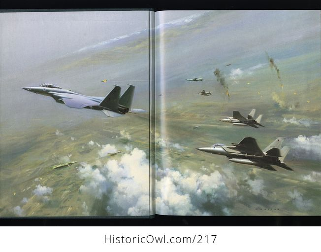 Collectible Time Life Book from the Epic of Flight Set Fighting Jets by Bryce Walker C1983 - #i0s8zOP7lTc-2