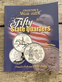 Collectors Value Guide Fifty State Quarters Book C2000 #0jd1Elkye80