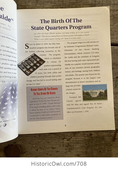 Collectors Value Guide Fifty State Quarters Book C2000 - #0jd1Elkye80-5