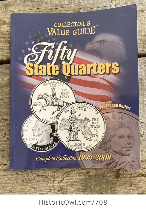Collectors Value Guide Fifty State Quarters Book C2000 - #0jd1Elkye80-1