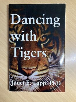 Dancing with Tigers Paperback Book by Janet E Lapp C1994 #edREBWMGVv4