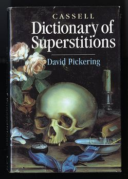 Dictionary of Superstitions Book by David Pickering C1995 #NrVFi6srKts