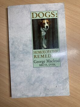 Dogs Homeopathic Remedies Paperback Book by George Macleod C1994 #7LpOgmtt2ME