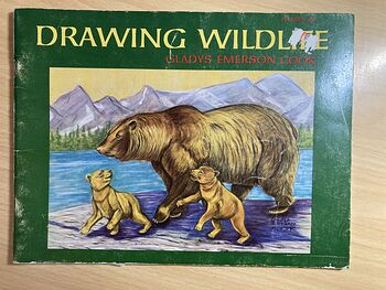 Drawing Wildlife Book by Gladys Emerson Cook #0CZkzvUaOzk