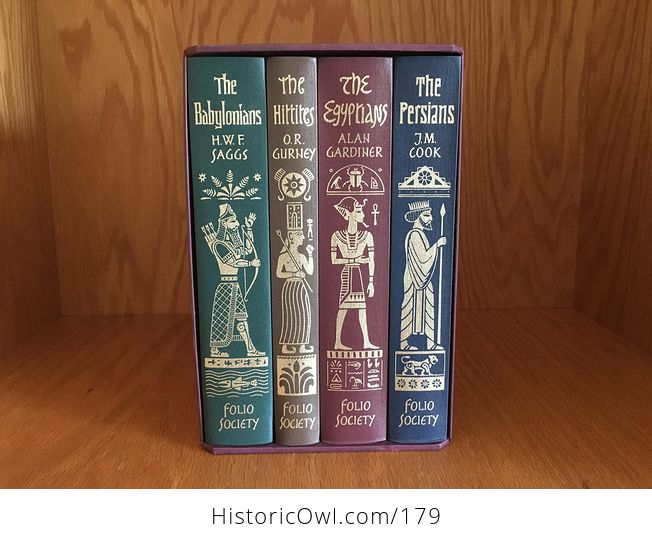 Empires of the Ancient near East the Folio Society the Babylonians the Egyptians the Hittites the Persians Seventh Printing 2003 - #dK2CKwisl00-1