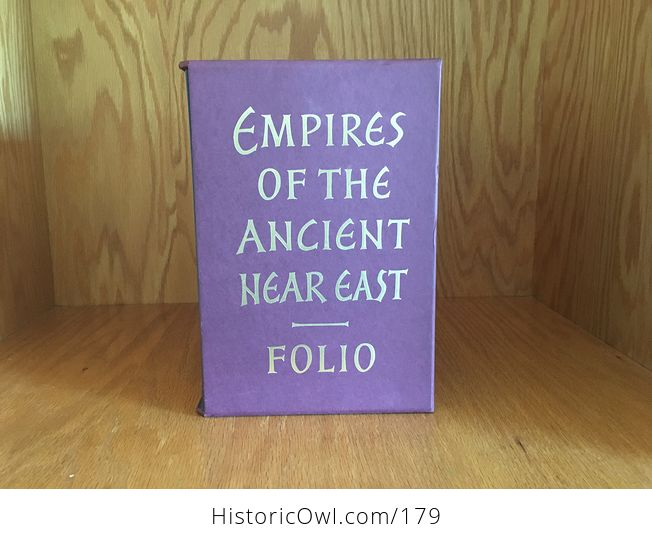 Empires of the Ancient near East the Folio Society the Babylonians the Egyptians the Hittites the Persians Seventh Printing 2003 - #dK2CKwisl00-2