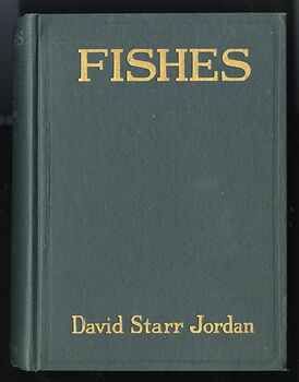 Fishes Book by David Starr Jordan C1925 #mrkFhL7Yu2o