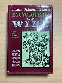 Frank Schoonmakers Encyclopedia of Wine Book Sixth New Revised Edition C1975 #gtXnTtjKAHY