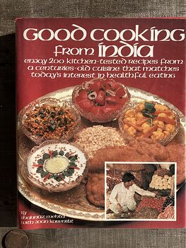 Good Cooking from India Book by Shahnaz Mehta with Joan Korenblit C 1981 #eG9B2nBHJAc