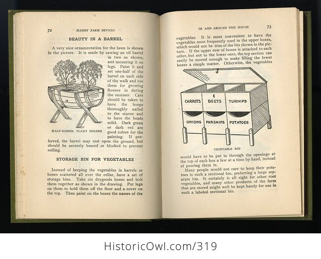Handy Farm Devices and How to Make Them Antique Illustrated Book by Rolfe Cobleigh C1912 - #nBODigSD9N8-6