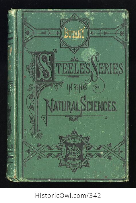 How to Study Plants Fourteen Weeks in Botany Being an Illustrated Flora Antique Illustrated Book by Alphonso Wood and J Dorman Steele C1879 - #rc4zlE1XwUU-1