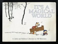 Its a Magical World a Calvin and Hobbes Collection by Bill Watterson C1996 #KWDDRc6iFlI