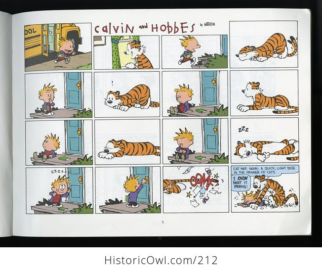 Its a Magical World a Calvin and Hobbes Collection by Bill Watterson C1996 - #KWDDRc6iFlI-3