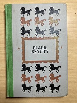 Junior Deluxe Editions Vintage Book Black Beauty the Autobiography of a Horse by Anna Sewell Illustrated by Walter Seaton Cmcmliv 1954 #1rkhmiEfNCQ