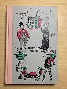 Junior Deluxe Editions Vintage Book Christmas Stories by Charles Dickens Illustrated by Walter Seaton Cmcmlv 1955 #uRoJ0gcVmNo