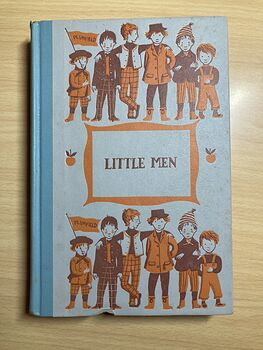 Junior Deluxe Editions Vintage Book Little Men Life at Plumfield with Jos Boys by Louisa May Alcott Illustrated by Ruth Ives Cmcmlv 1955 #H9QUqQoJB5A