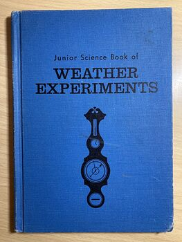 Junior Science Book of Weather Experiments by Rocco V Feravolo C1963 #fd532HYXyWs