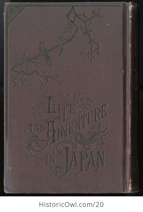 Life and Adventure in Japan Antique Illustrated Book by E Warren Clark C 1878 - #FG6qz9RZrRM-9
