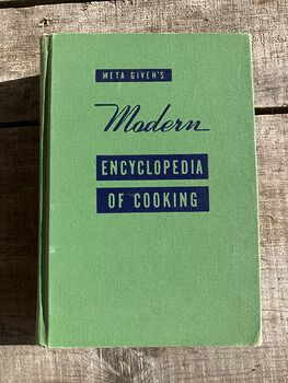 Meta Givens Modern Encyclopedia of Cooking Volume Ii Vintage Book Copyright 1949 #tmNSSePtqdk