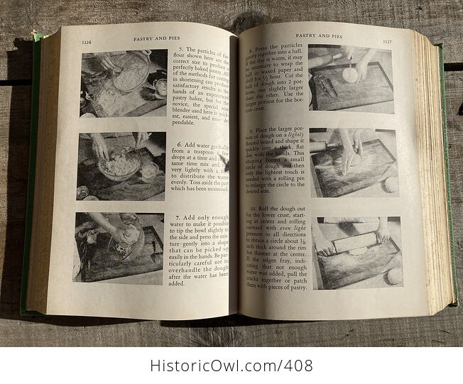 Meta Givens Modern Encyclopedia of Cooking Volume Ii Vintage Book Copyright 1949 - #tmNSSePtqdk-10