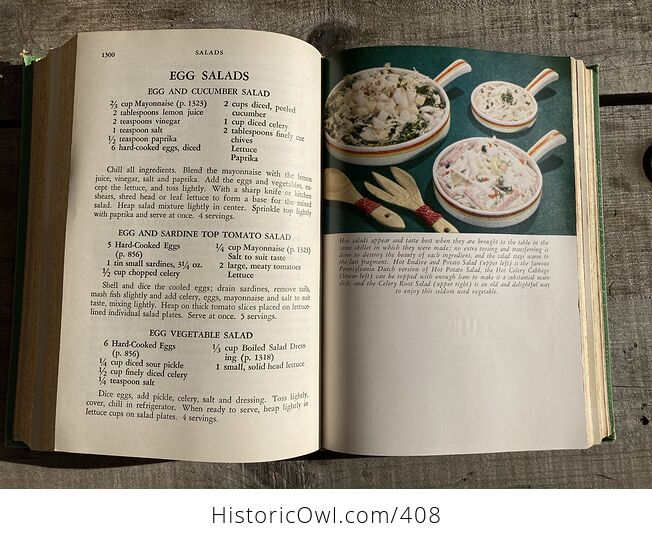 Meta Givens Modern Encyclopedia of Cooking Volume Ii Vintage Book Copyright 1949 - #tmNSSePtqdk-11