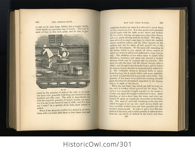 Milch Cows and Dairy Farming Antique Illustrated Book by Charles L Flint C1859 - #i29Hij4XmDQ-10