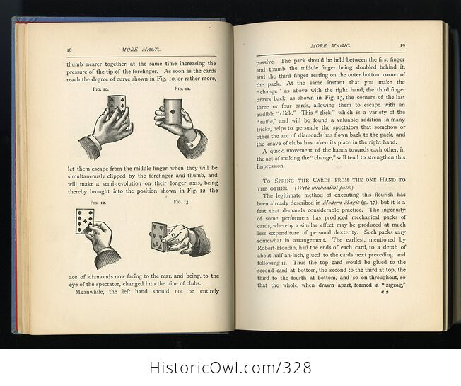 More Magic Antique Illustrated Book by Professor Hoffmann David Mckay Publishers C1890 - #P7mHEv8PoNg-8