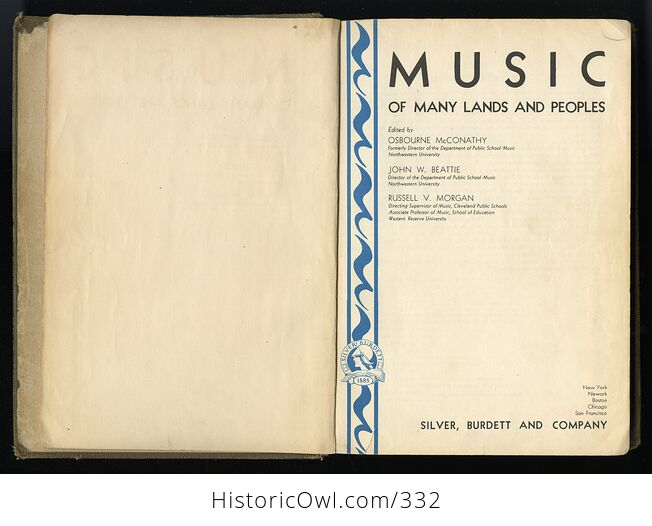 Music of Many Lands and Peoples Edited Antique Illustrated Book by Osbourne Mcconathy John W Beattie and Russell V Morgan C1932 - #CRRqQ6hfNDo-3