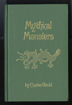 Mythical Monsters Book by Charles Gould C1981 #EdMKbTAkWCs