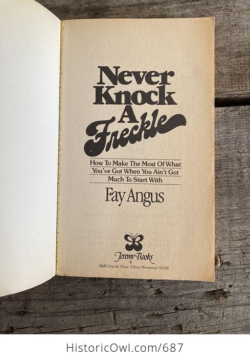Never Knock a Freckle Paperback Book by Fay Angus - #ZaFq7iFQwFY-10