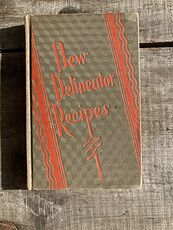 New Delineator Recipes Vintage Book C1929 #FmcGXLj57sE