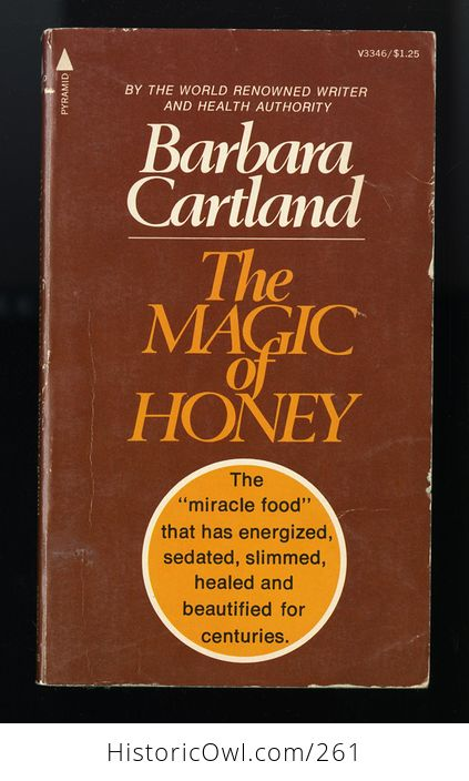 Paperback Book the Magic of Honey by Barbara Cartland C1970 - #OqgHiJRfX6I-1