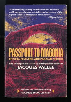 Passport to Magonia on Ufos Folklore and Parallel Worlds Book by Jacques Vallee #046KQZs4i7U