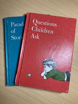Questions Children Ask and Parade of Stories 2 Vintage Books #B9XtmPSFyyg