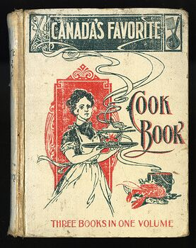 Rare Canadas Favorite Cook Book by Mrs Gregory and Friends C1900s #ftdw7z2E92s