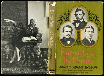 Retro Book Education by Uncles by Abigail Adams Homans 1966 #exyp7l7Po18