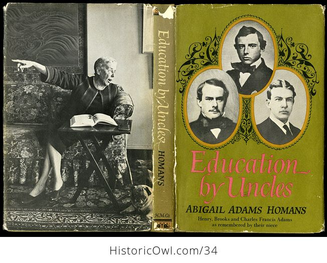 Retro Book Education by Uncles by Abigail Adams Homans 1966 - #exyp7l7Po18-1