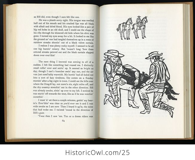 Retro Book Great Ghost Stories of the Old West Edited by Betty Baker C1968 - #K5ZErWftS2c-7