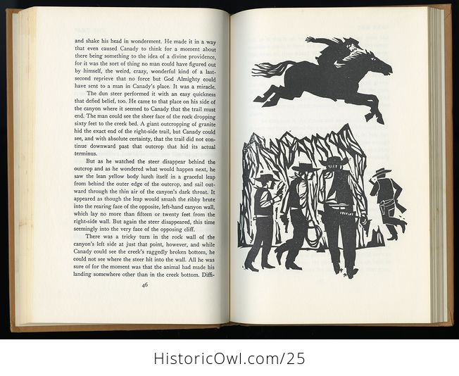 Retro Book Great Ghost Stories of the Old West Edited by Betty Baker C1968 - #K5ZErWftS2c-8